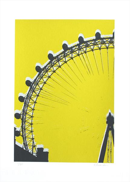 London Eye (chartreuse)