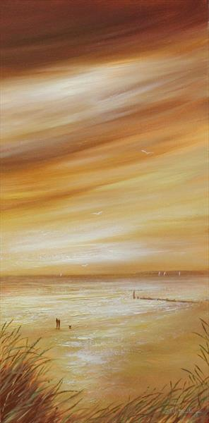 Coastal Walk II by Stella Dunkley