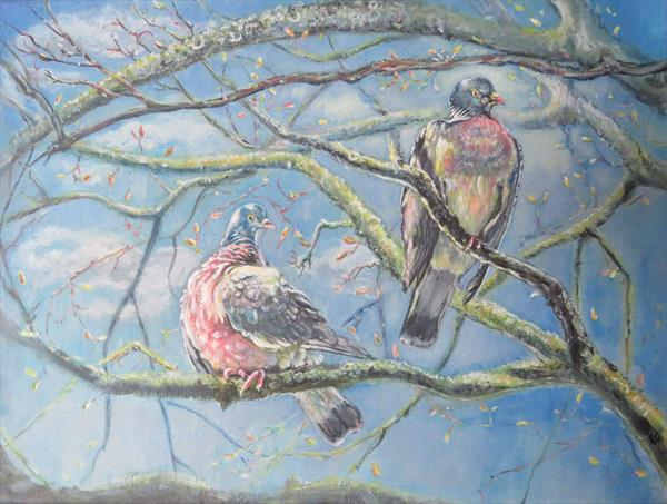 Up in the Tree-tops by Elizabeth  Grima