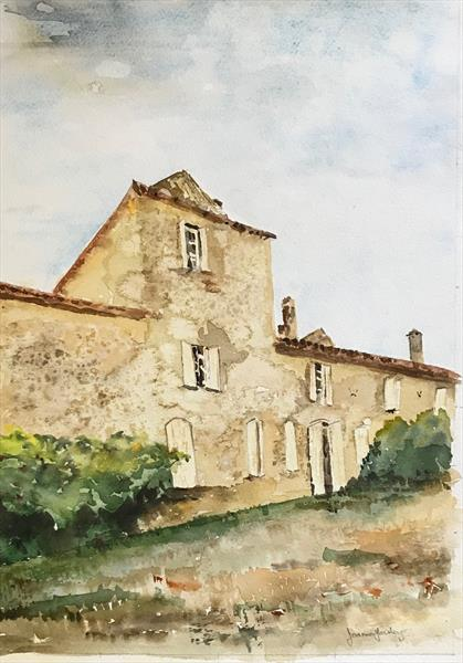 A Bordeaux Manoir by Joanna Fairley