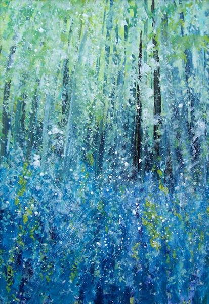 The Bluebell Woods 2# by Patricia Richards