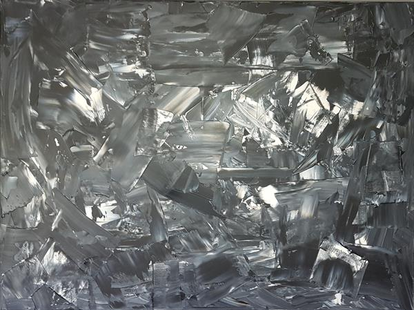 """Reflections Of The Past (40"""" x 30"""") by Michael Basura"""