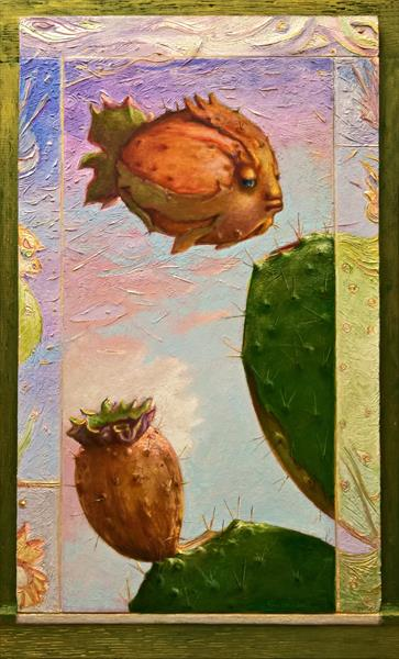 THE PRICKLY PEAR FISH by Carlo Salomoni