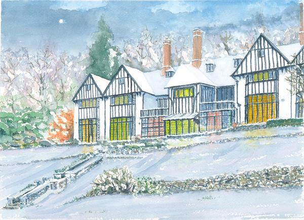 Winter at Gidleigh by Peter Blake