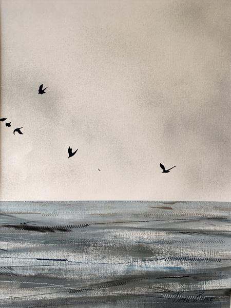 Seascape collection I.3 (FRAMED) by Pippa Buist