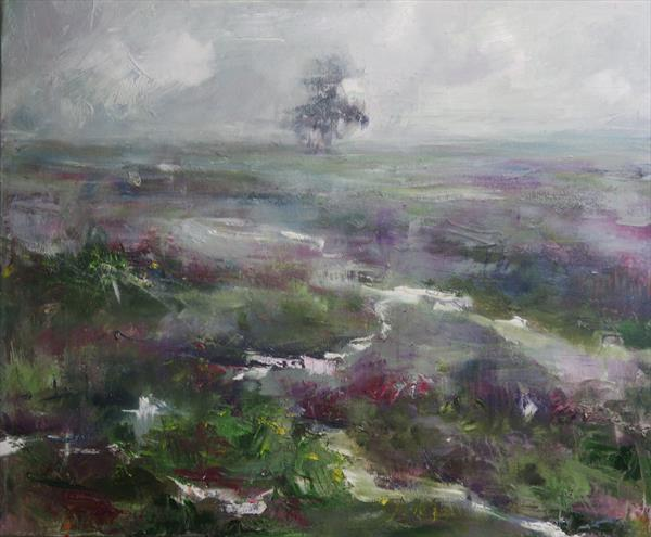 Heather and Mist by Gabriel  Knollys