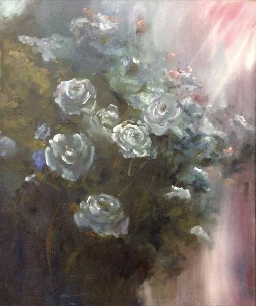 Rosey Rays of Light  by Deborah Elizabeth Mcneill Forrester