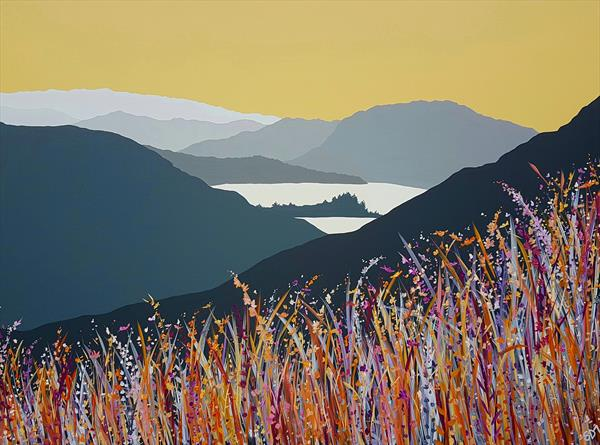 Grasmere & Loughrigg Fell, the Lake District by Sam Martin