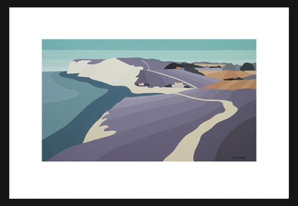 Freshwater Bay I.O.W by Suzanne Whitmarsh