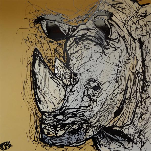 White Rhinoceros 0516