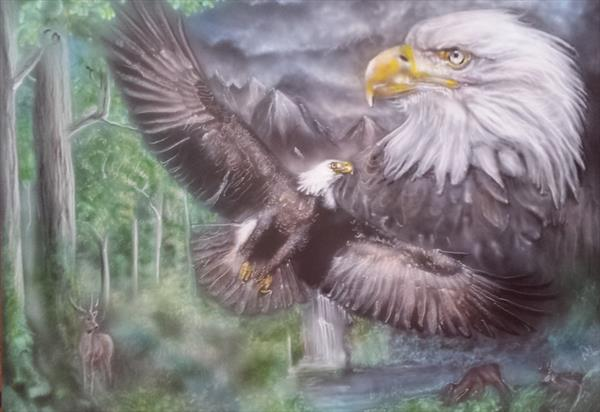 eagles of the mountain by Richard Heaney