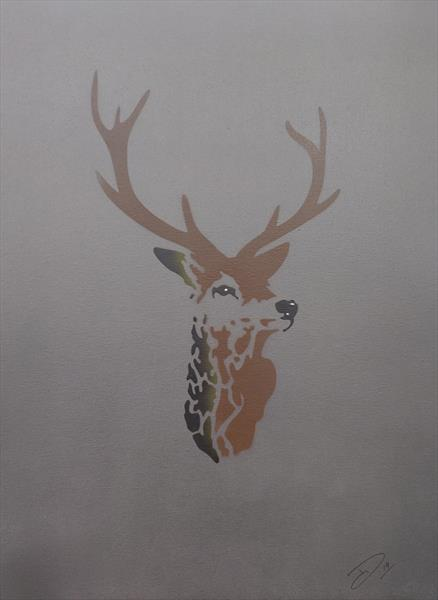 Stag by Damian Philliben
