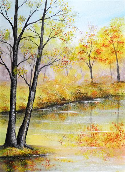 Autumn Leaves by Sarah Featherstone