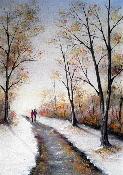 First Snow by Sarah Featherstone