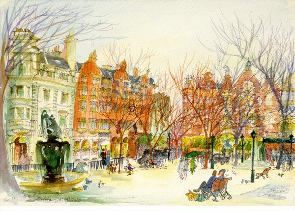 SLOANE SQUARE SW1. In The Heart of London by Patricia Edith Mary Thompson