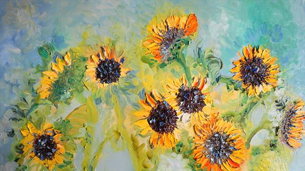 Sunflower Teal