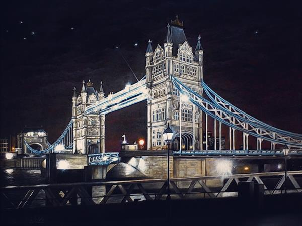 Tower Bridge - Limited edition print by Ian Blaikie