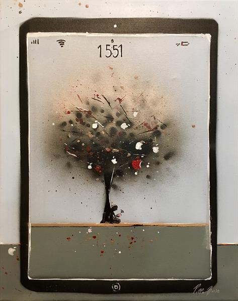 The apple tree  by Pippa Buist