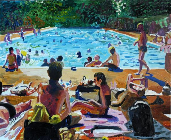 London lido by Stephen Abela
