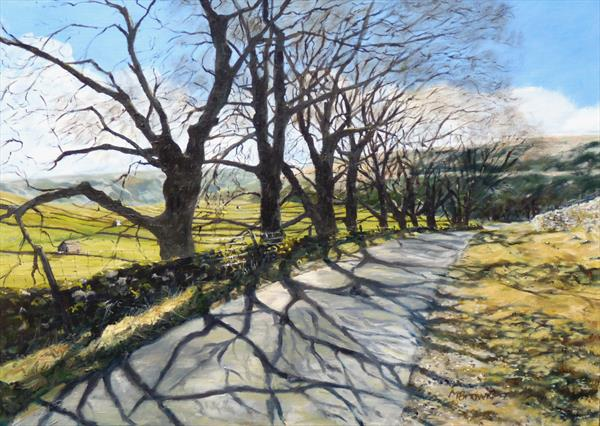 Shadows of Wharfedale by Mike Brown