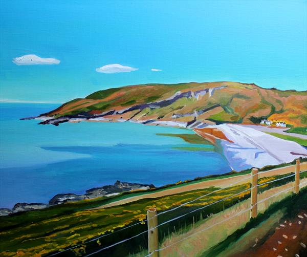 Down to Pwll Du  by Emma Cownie