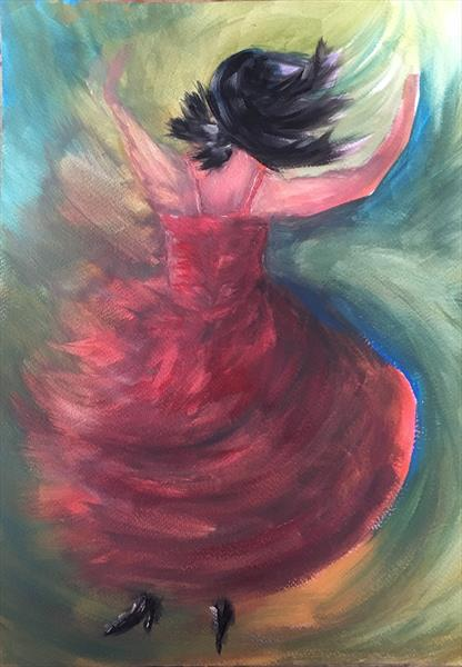 Flamenco  by Damion  Maxwell