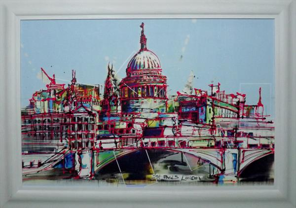 London cityscape by Keith Mcbride