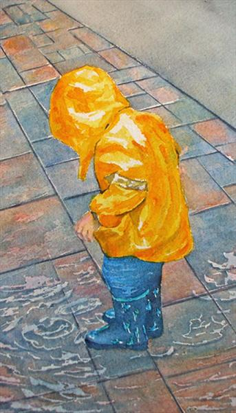 Puddles by Maureen Crofts
