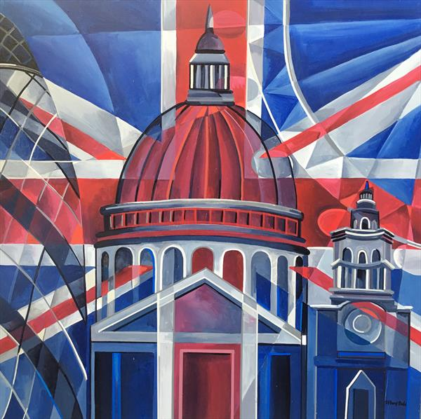 London Abstracted 2 by Tiffany Budd