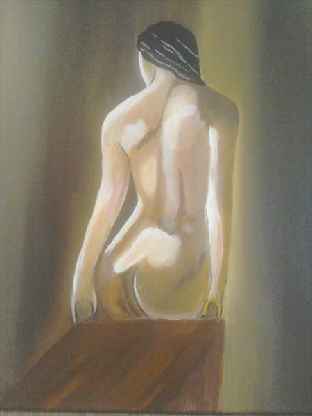 Nude  by Phillip Speakman