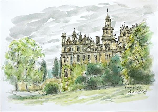 Thoresby Hall by Sheila Vickers