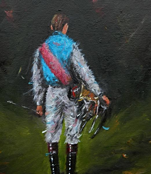 Jockey - Study . Horse Racing by James Odubote