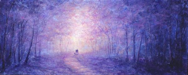 Winters Enchantment II by Stella Dunkley