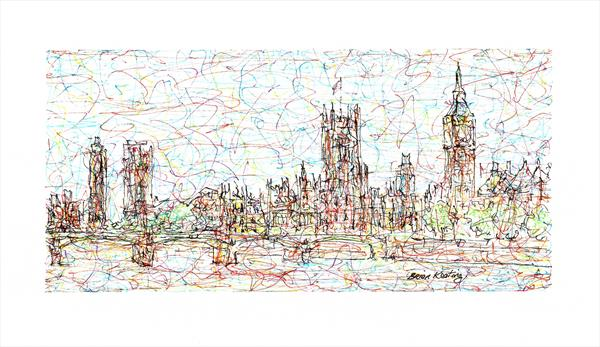 Impression of Westminster London by Brian Keating