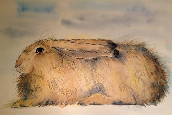 Hairy Hare by Becca Fielding