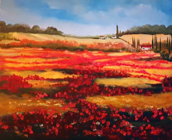 Poppy Fields by Elizabeth Williams
