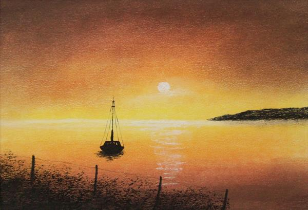 Sunset by Patricia Richards