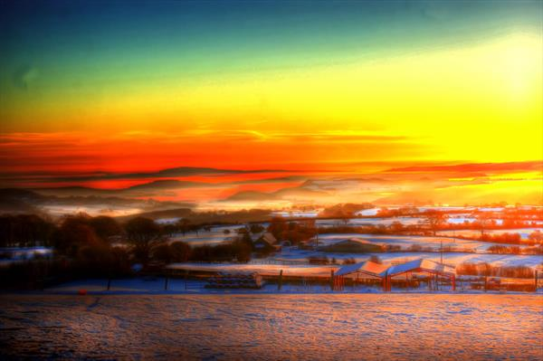 Fog in the Valley by Steve Lindon