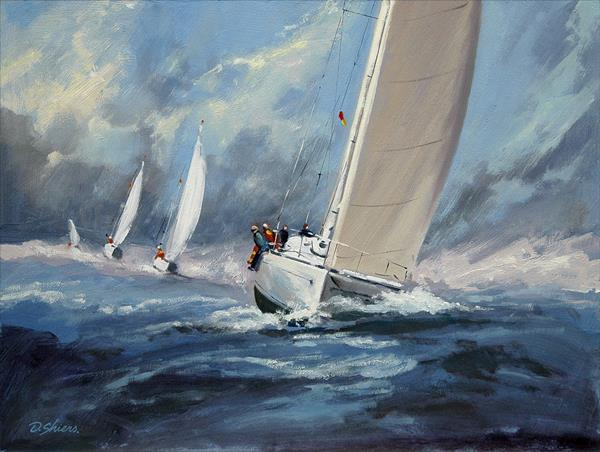 Riding the Waves by David Shiers