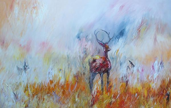 The Red Stag  by Lesley Blackburn