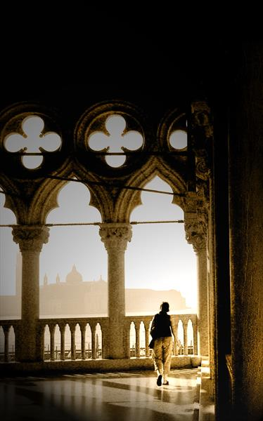 A Stroll in Doge's Palace by Rob Thomas
