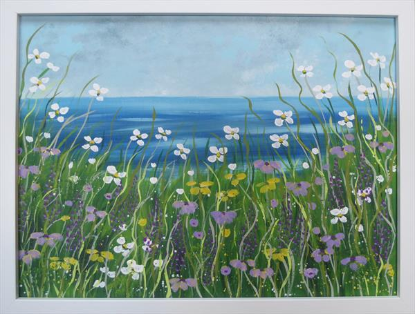 Clifftop Tangle by Elaine Allender