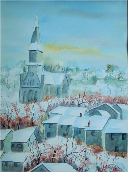 Winter in France by Frances Coleman