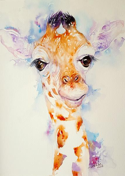 Gia the Baby Giraffe by Arti Chauhan