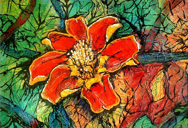 African Marigold by Guy Wooles