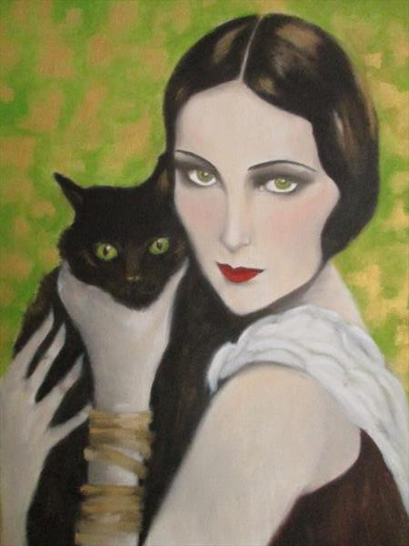 Cat and I. by Carron  Howe
