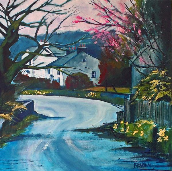 A Springtime Walk by Bryony Harrison
