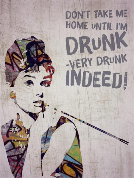 Very drunk indeed!  by Sara Sutton