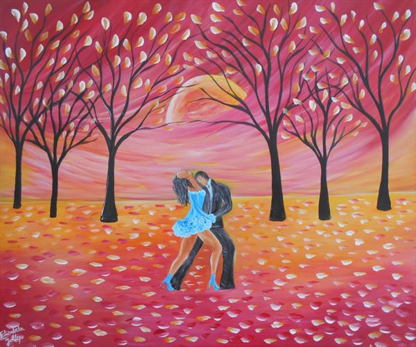 When spring come, we shall dance by Elisabeta Mihaela Jolley