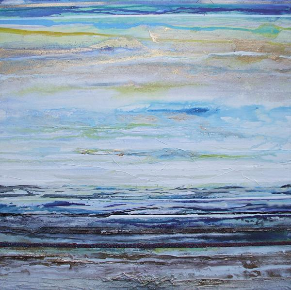 Low Newton Beach Rhythms & Textures No3 by Mike Bell